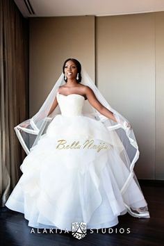 This ombre wedding gown is stunning provestra skinception coupon tiwa savage wedding dress vera wang fandeluxe Gallery