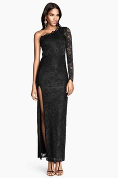 Vestido de un solo hombro | H&M