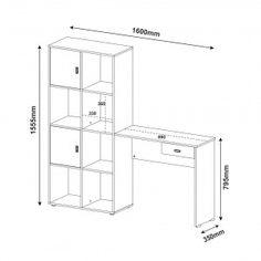Steel Furniture, Kids Furniture, Table Furniture, Furniture Design, Plywood Desk, Study Table Designs, Tv Cabinet Design, Bois Diy, Wooden Words