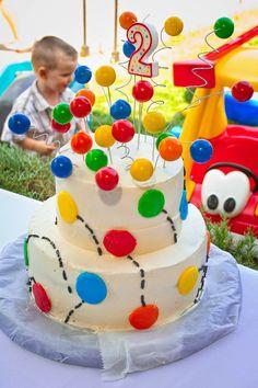 Ball, gum ball, bouncing ball, birthday cake