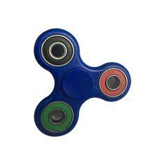 Kolorowy niebieski spinner plastikowy, sklep online