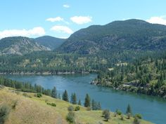 Lake Roosevelt, Lake Roosevelt National Recreation Area, near Spokane, Washington