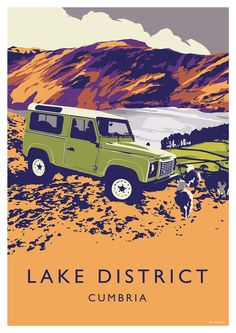 Defender 90 in the Lake District