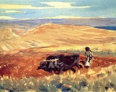 Hills of Galilee - John Singer Sargent
