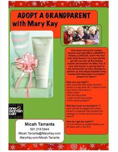 Adopt A Grandparent idea. | Mary Kay Xmas | Pinterest | Christmas ...