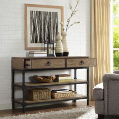 Found it at Wayfair - Delano Console Table