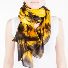 Hey, I found this really awesome Etsy listing at https://www.etsy.com/listing/210870680/large-black-and-gold-scarf-magnificent