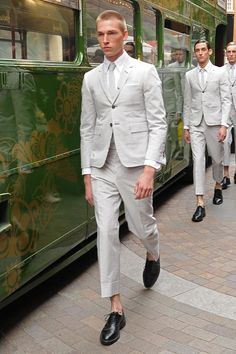 Thom Browne Spring/Summer 2013. I'm more determined than ever to get myself properly suited at Thom Browne.