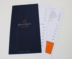 Shiritori Restaurant - Courtney Maya | Graphic + Interactive Design