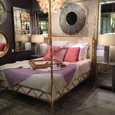 My first style spotted item is the last I am adding to my board! How could I forget such an amazing bed from Available in 4 finishes and countless headboard insets. Styles P, Cool Beds, Made Goods, Timeless Fashion, Forget, It Is Finished, Pure Products, Bedroom, Amazing