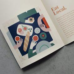 Illustration by Antra Švarcs Magazine Illustration, Graphic Design Illustration, Graphic Illustration, Brochure Design, Branding Design, Identity Branding, Corporate Design, Visual Identity, Layout Design