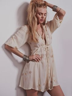 Free People Stargazer Mini Dress