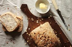 Multigrain Bread by pastryaffair, - have this in my stand mixer right now. I hope it turns out cause it looks delicious! My Favorite Food, Favorite Recipes, Flatbread Recipes, Multigrain, Bread N Butter, My Recipes, Baked Goods, Bakery, Treats