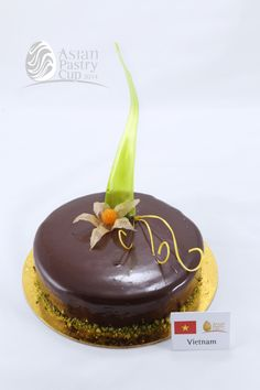 ASIAN PASTRY CUP 2014 : Official Chocolate Cake  - Vietnam