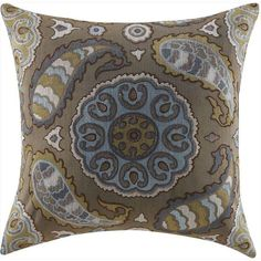 Coaster Accent Pillow, Paisley - Set of 2