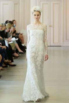 Oscar de la Renta: Bridal Couture Frühjahr 2016