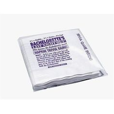 Bachelorette Napkin Trivia Game - Each girl in the party has to fill out a semi-risque questionnaire about the Bachelorette and her Bachelorette Party Supplies, Bachelorette Gifts, Bachlorette Party, Last Night, Night Out, Color Changing Lipstick, 21st Party, Party Fun, Trivia Games
