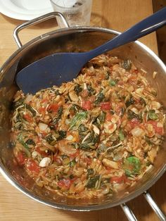 Orzo onepot -- 4 servings of 200 cal! : 1200isplenty