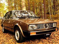 Alfetta Source by psaengvichien Alfa Romeo 155, Alfa Romeo Cars, Best Broom, Italy Spain, Classic Italian, Dream Garage, Car Manufacturers, Old Cars, Fiat