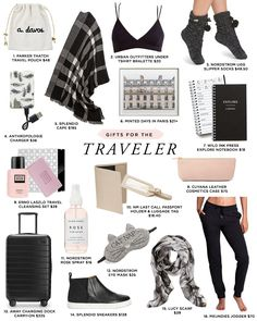 2016 Budget-Friendly Holiday Gift Guide Travel tips 2019 Budget-friendly holiday gifts for the traveler Travel Bag Essentials, Road Trip Essentials, Airplane Essentials, Travel Necessities, Travelling Tips, Packing Tips For Travel, Travel Hacks, Travel Checklist, Packing Lists
