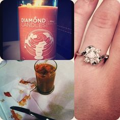 Diamond candles - A ring in every candle. Price for the ring can range from $10 to $5000