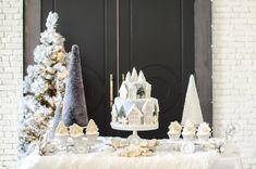 Winter Wonderland Shower   Black Twine #bridalshower #bridalshowerideas