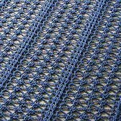 Free crochet pattern: Lacy Shawl – The Crochet Dude