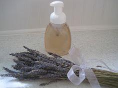 {Beautiful Nest}: Homemade Lemon Foam Soap