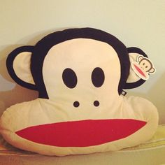 Cute~~#Paul Frank #Pillow by @joice_8023_r was... —