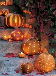 Glorious jack-o-lanterns