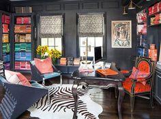 Peek Inside Kourtney Kardashian's Home - The Office from #InStyle
