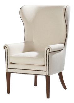 Phillipe Chair  Traditional, Transitional, Upholstery  Fabric, Armchair by Ebanista