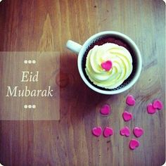EID Mubarak to everyone Muslim and non Muslim.... I hope your days are filled with happiness and joy ^_^