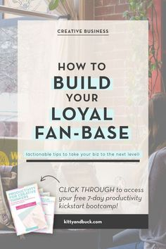 Click through to learn how to turn your customers and clients into loyal, raving fans! Tips from a customer service expert, via Kitty & Buck #solopreneur #businesstips #entrepreneurtips #girlboss Business Advice, Online Business, My First Job, Go Getter, Build Your Brand, The Hard Way, What You Can Do, Customer Service, Creative Business