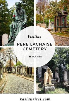 Paris guides: visiting the Père Lachaise cemetery | kasiawrites - travel blog