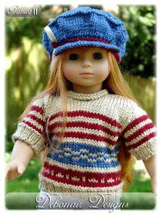 "Debonair Designs for American Girl 18"" Gotz Dolls Kidz n Cats Boys & Girls: May 2011"