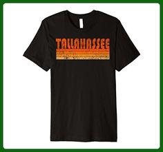 Mens Vintage Retro Tallahassee FL Premium T Shirt 2XL Black - Retro shirts (*Amazon Partner-Link)