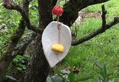 Gartendekoration - Fröhliches Windspiel - ein Designerstück von Bodenseekeramik bei DaWanda