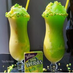 Nerds Sour Candy Cocktail