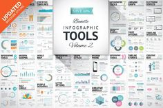 45%OFF Infographic Elements Bundle 2 by Infographic Template Shop on @creativemarket