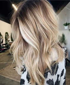 Hair Color Shades, Cool Hair Color, Blonde Hair Shades, Blonde Hair Colour, Level 7 Hair Color, Hair Colour Ideas, Latest Hair Color, Hot Hair Colors, Hair Color And Cut