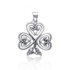 Celtic knot clover. So pretty!