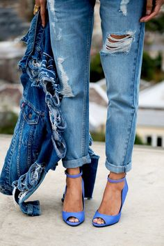 Denim + blues