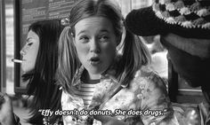 effy doesn't do donuts, she does drugs