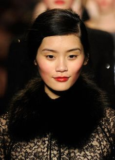 How to Wear Red Makeup Michael Kors