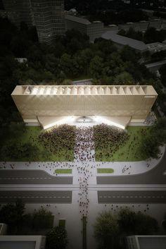 Galeria - Penda propõe um novo Museu Bauhaus mutável - 1