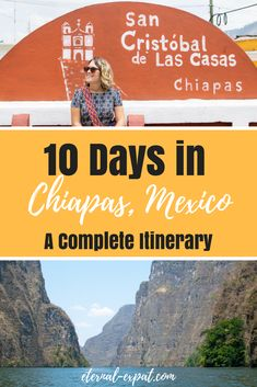 10 day Chiapas Itinerary - what to do with 10 days in Chiapas. Tours ot take in Chiapas, how to get around Chiapas, where to stay in Palenque and San Cristobal de las Casas, and the best tours that will help you see the top sights in Chiapas, Mexico