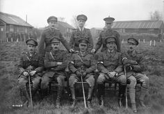 Gen. Morrison, G.O.C. Artillery and Railway of the Canadian Corps and Staff. Battle of Passchendaele. November, 1917.