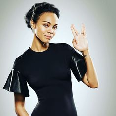 "Zoe Saldana loves roles set in space. She travels beyond Earth again this summer in her third appearance as communications officer Lt. Nyota Uhura in ""Star Trek Beyond."" Saldana spoke with Connie Guglielmo, editor in chief of CNET News, about why she finds acting in sci-fi movies empowering, how she missed out on Nintendo and why she hopes someone will invent a real-life transporter. Read the full story at CNET.com. #StarTrek #ZoeSaldana #Uhura"