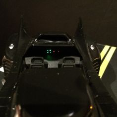 Top Canopy View of the 1989 Batmobile by Martin's Models.